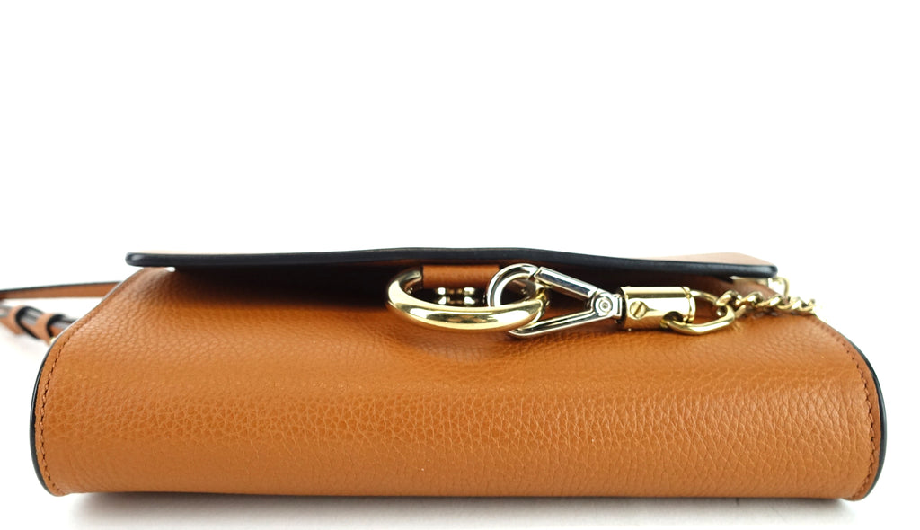 Faye Mini Leather Shoulder Bag