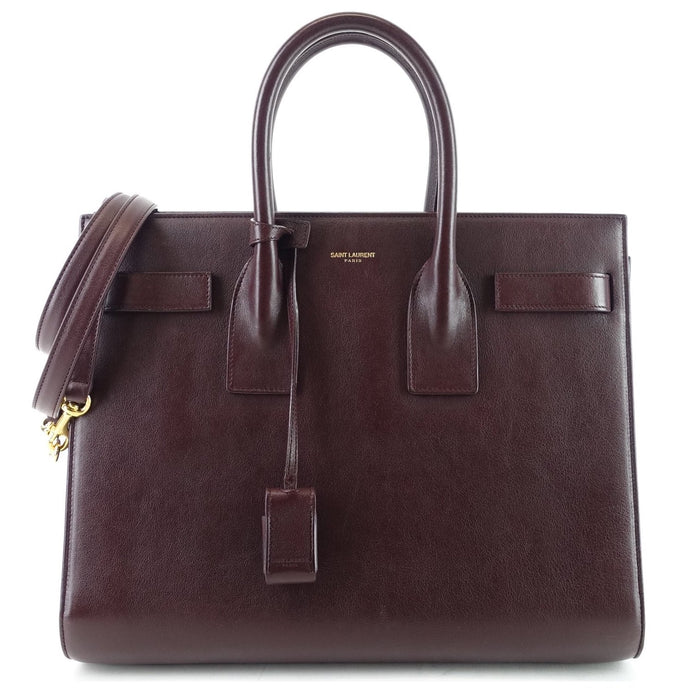 Sac de Jour Small Calf Leather Shopper Tote Bag