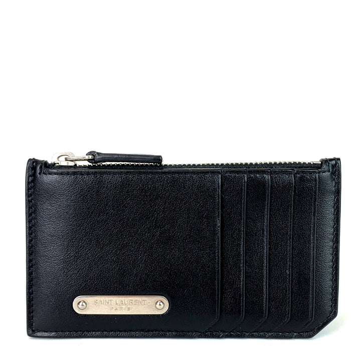 Fragments Calf Leather Zip Pouch
