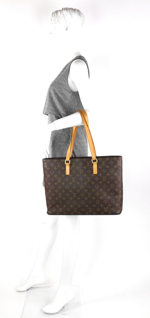 Luco Monogram Canvas Tote Bag