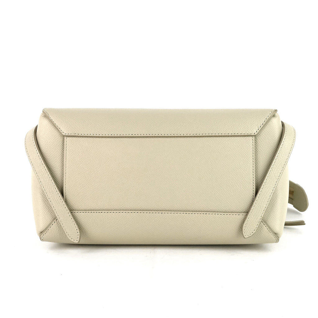 Micro Belt Grained Calf Leather Bag