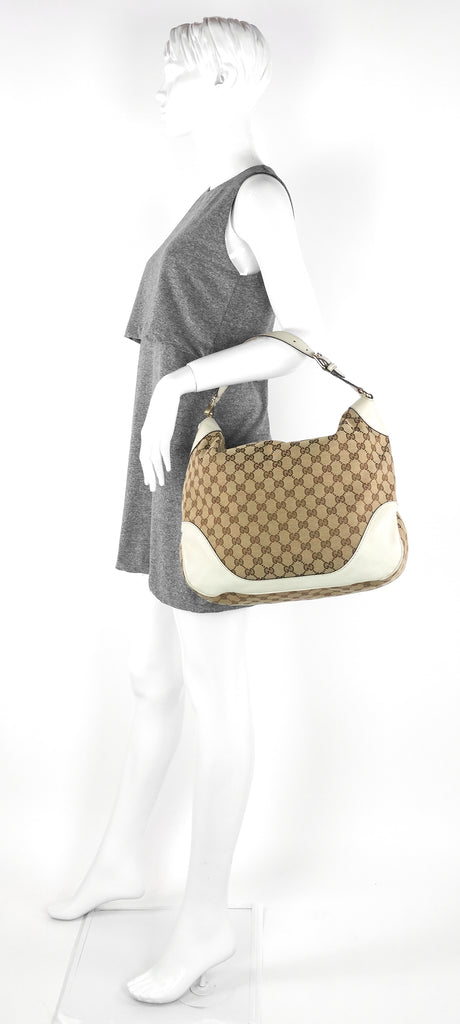 Charlotte GG Canvas Hobo Bag
