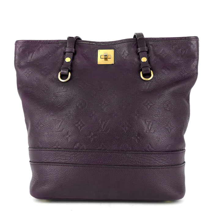 Citadine Monogram Empreinte Leather Tote Bag
