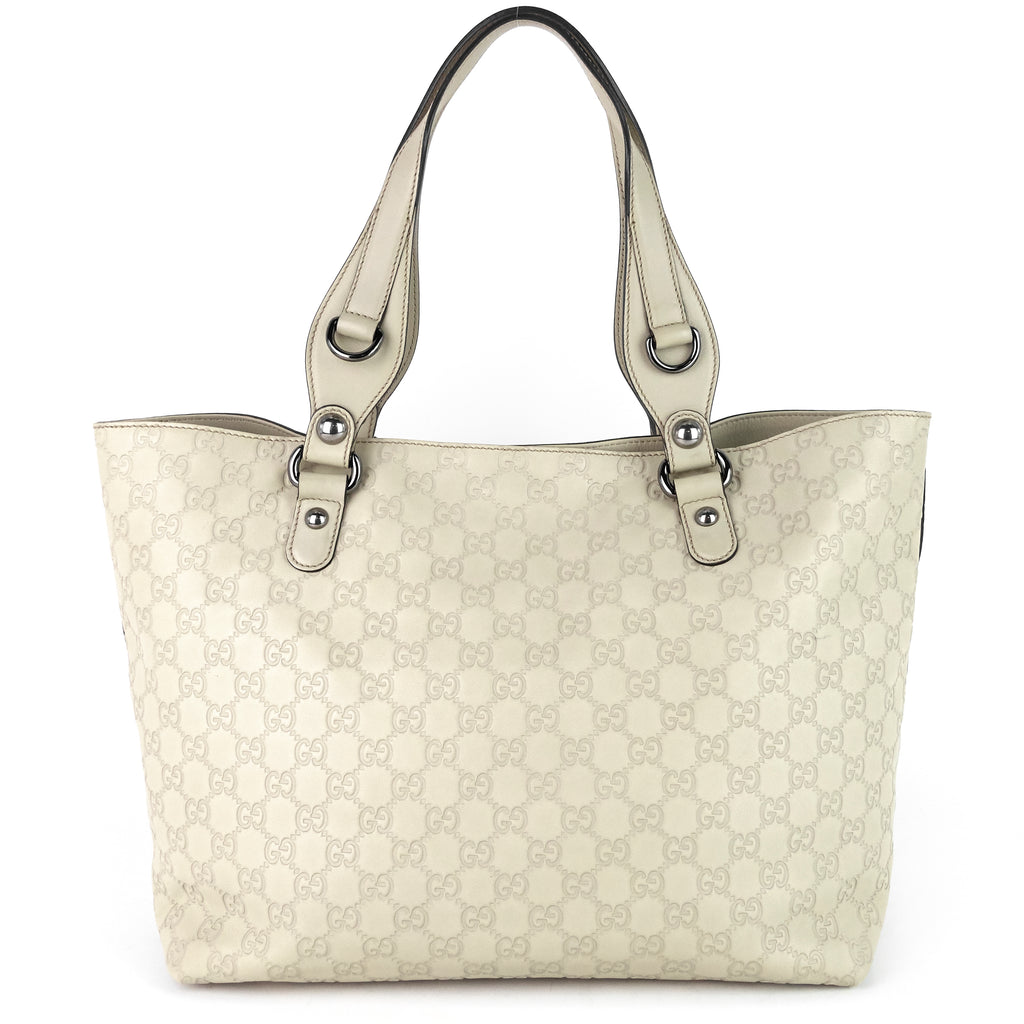 Guccissima Leather Icon Bit Tote Bag