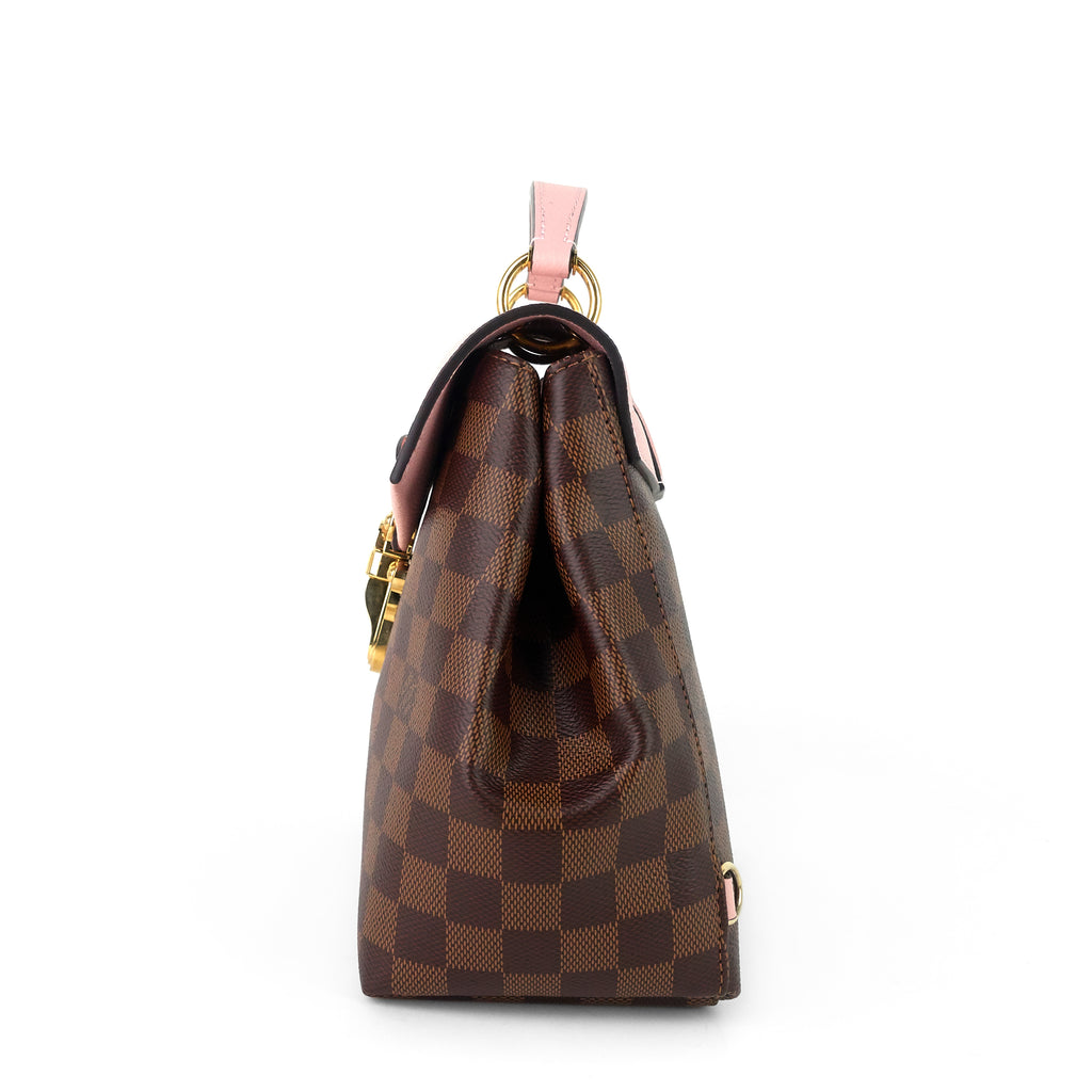 Clapton Damier Ebene Canvas Backpack