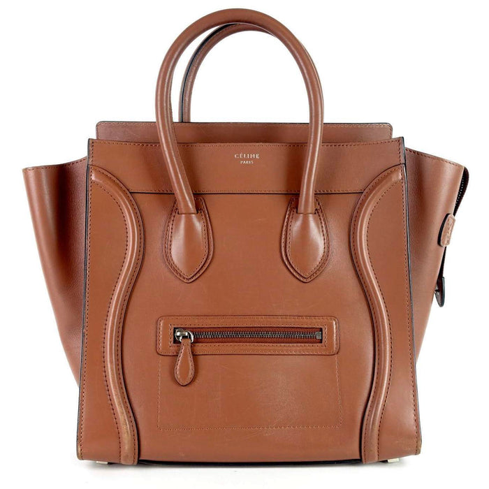 Smooth Calf Leather Luggage Bag