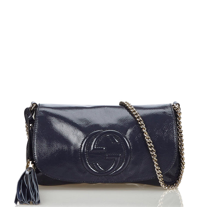 Soho Mini Patent Leather Crossbody Bag