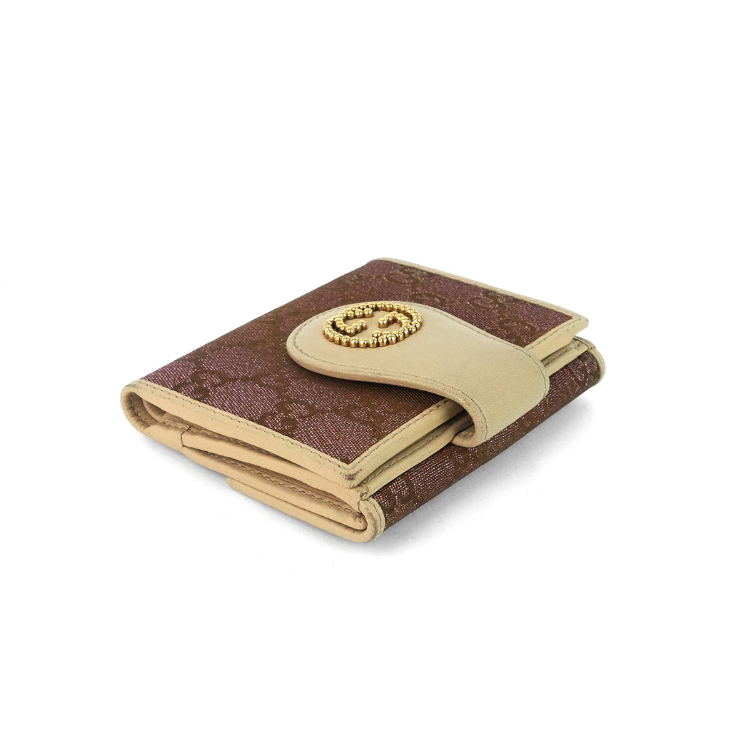 GG Canvas Compact Wallet