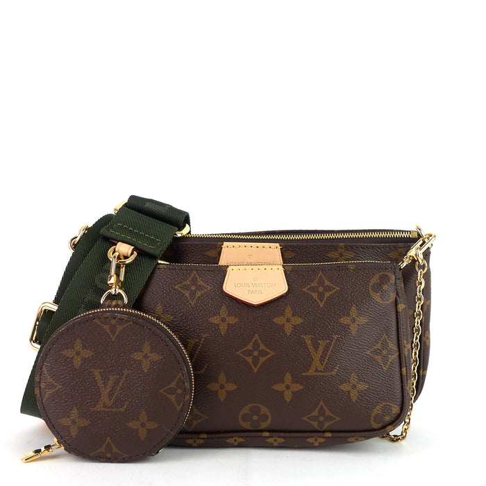 Multi Pochette Monogram Canvas Bag