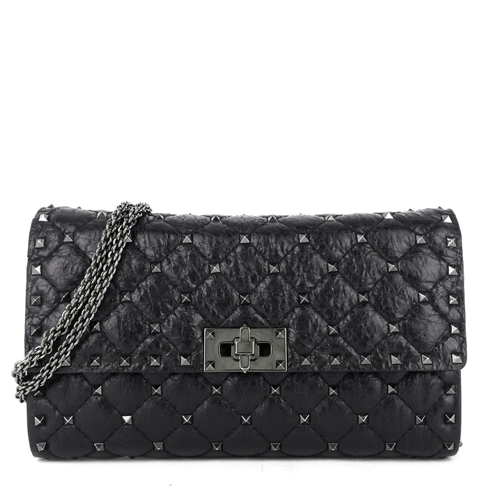 Garavani Rockstud Spike Clutch Crossbody Bag