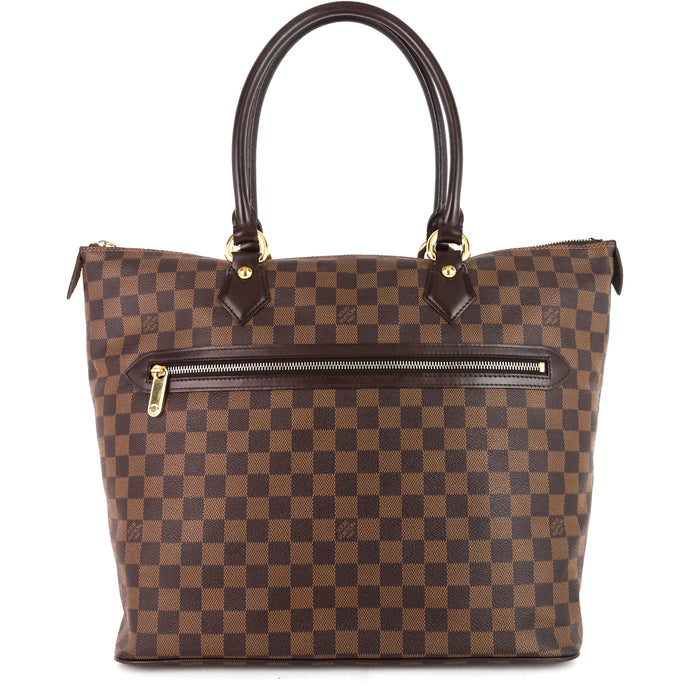 Saleya GM Damier Ebene Canvas Bag