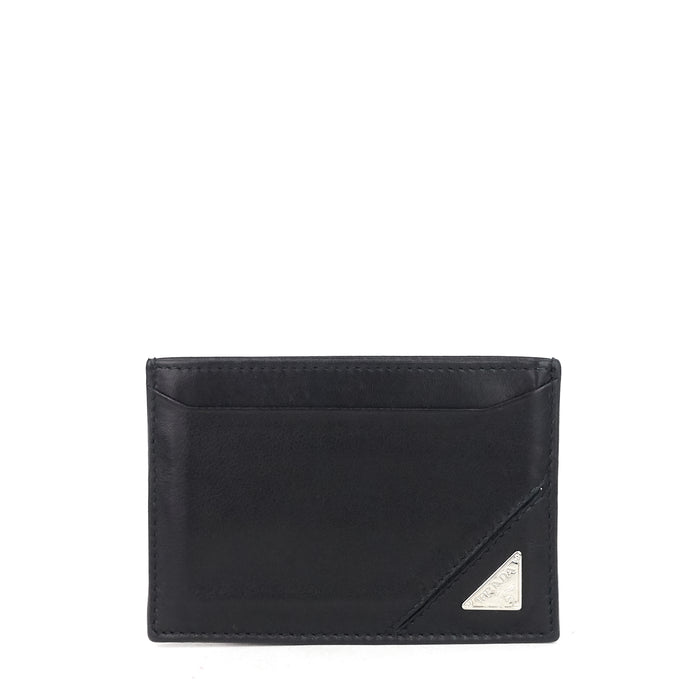 Vitello Leather Card Holder