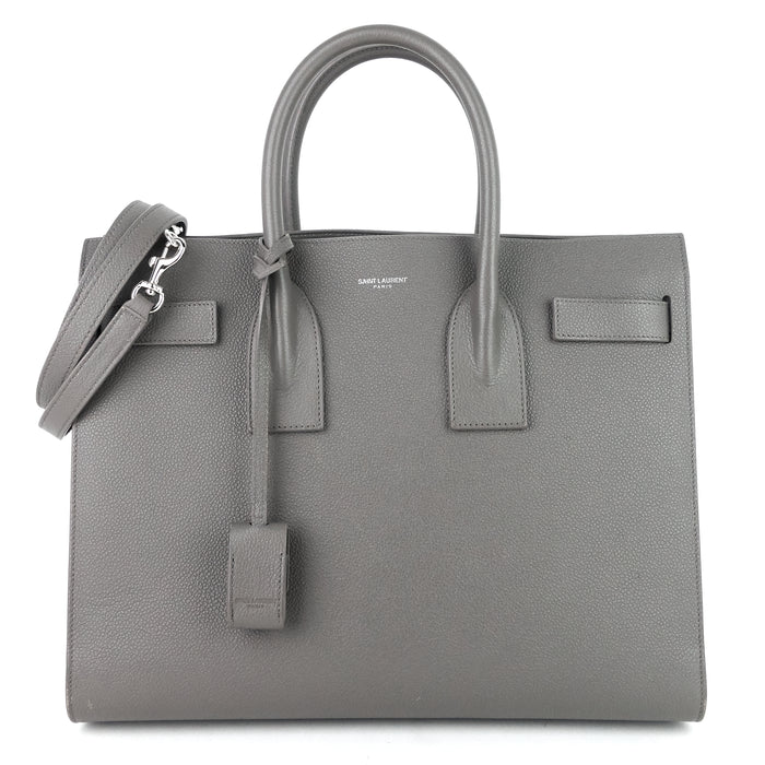 Sac de Jour NM Small Gray Leather Bag