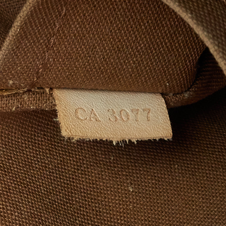 Sac Bosphore Monogram Canvas Messenger Bag