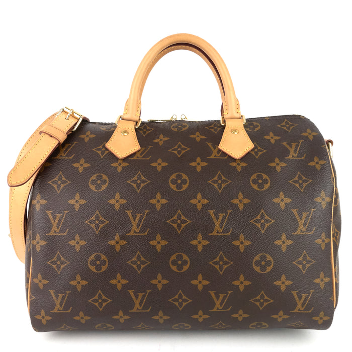 Speedy Bandouliere 30 Monogram Canvas Bag