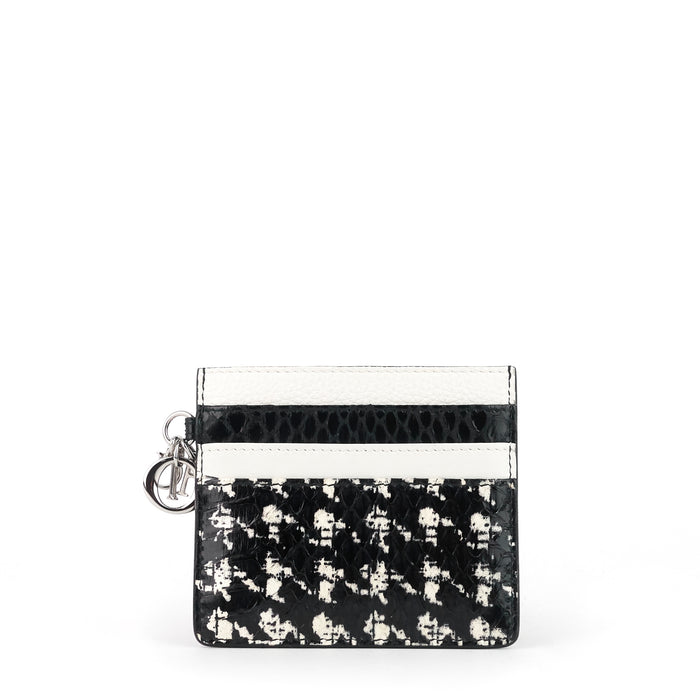 Diorissimo Leather Card Holder