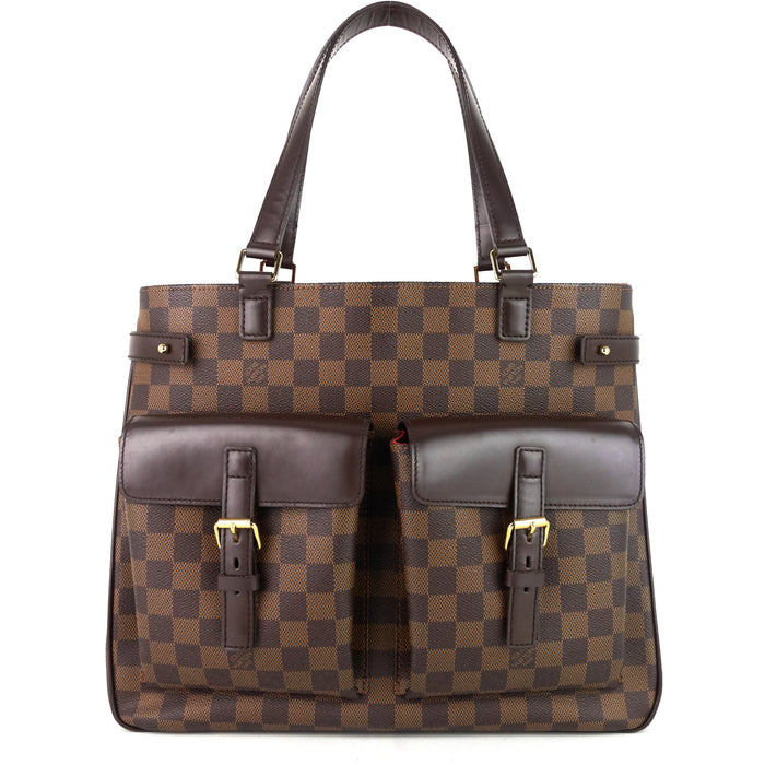 Uzes Damier Ebene Canvas Bag