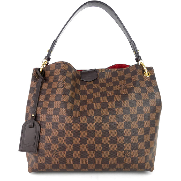 Graceful PM Damier Ebene Canvas Bag