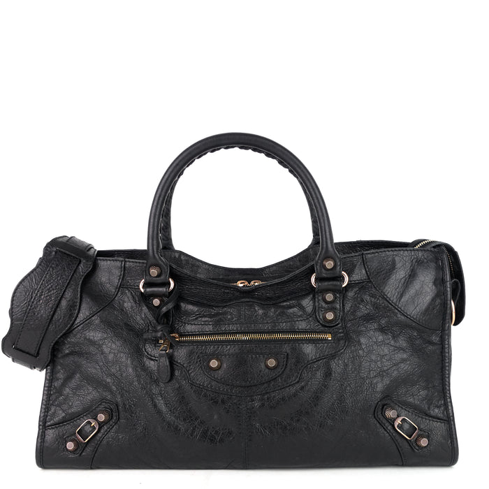 Giant Part Time Lambskin Leather Bag