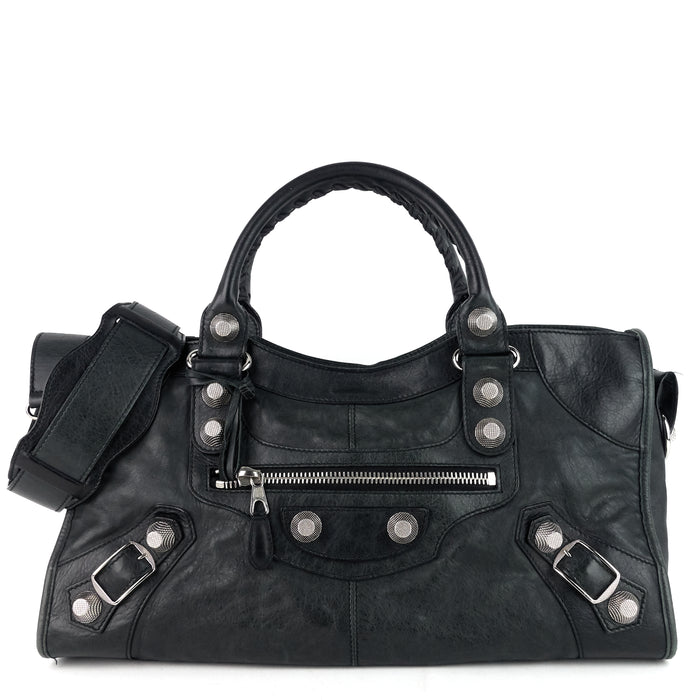 Giant 12 City Agneau Leather Handbag
