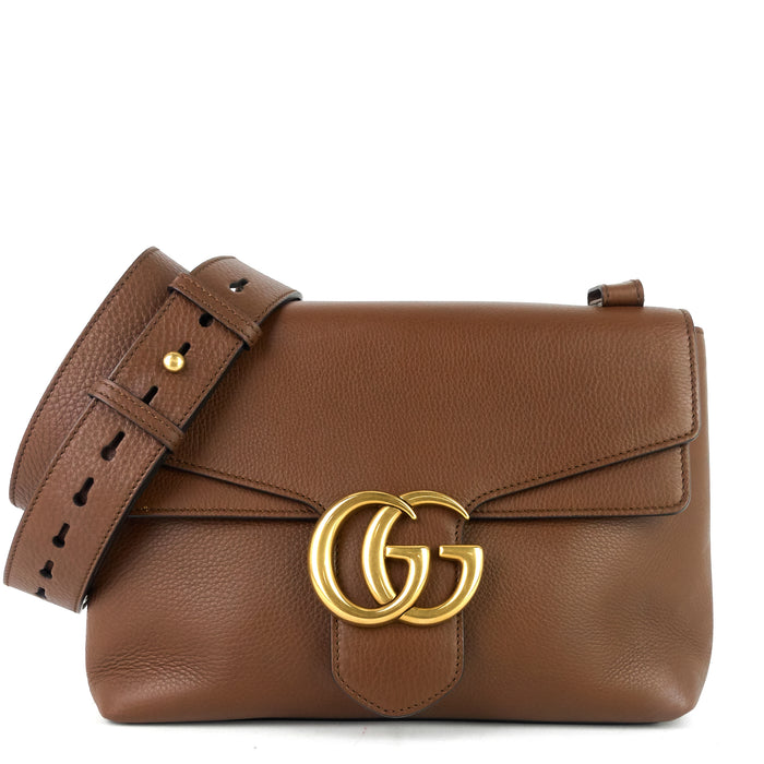 Leather Marmont Shoulder Bag