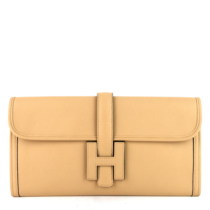 Jige Elan Swift Leather Clutch Bag
