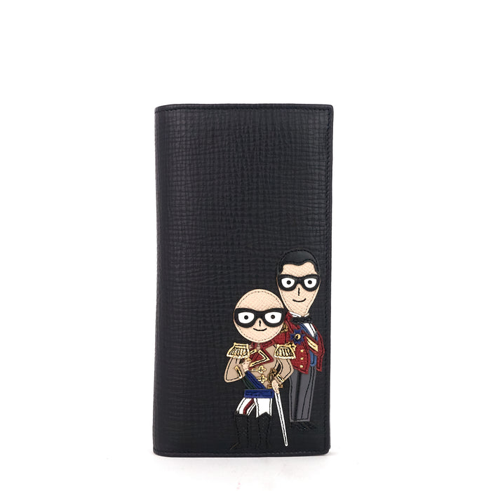 Dolce & Gabbana Military Designer Patch Wallet