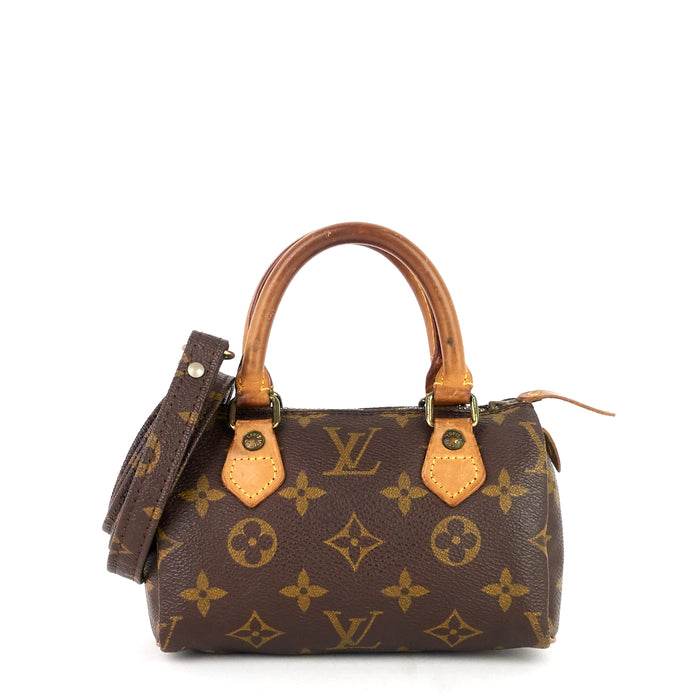 Speedy Mini HL Monogram Canvas Bag