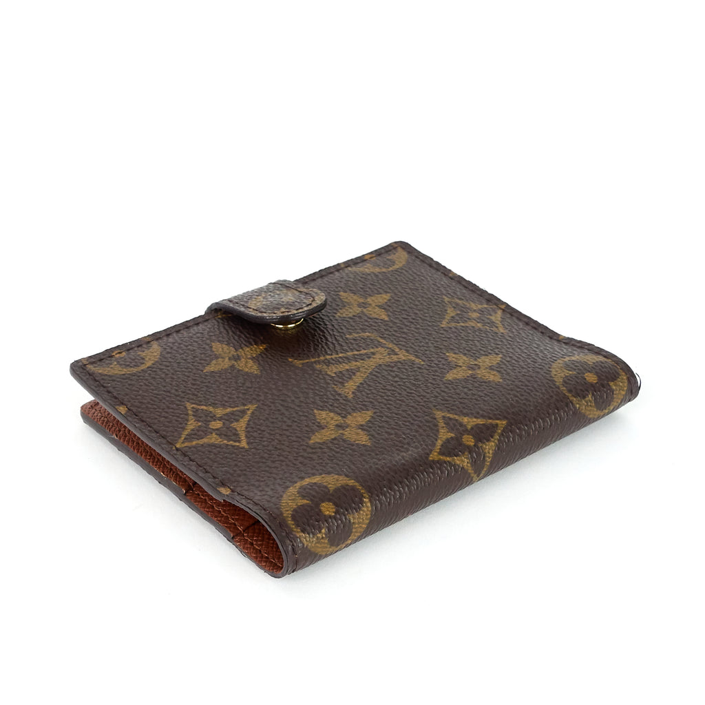 Monogram Canvas Mini Agenda Cover