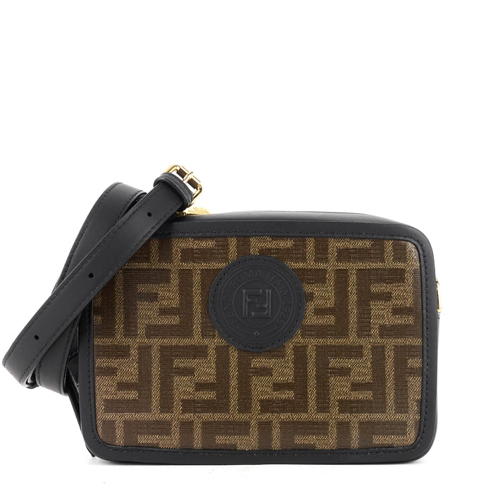 Camera Coated Monogram Canvas Bag