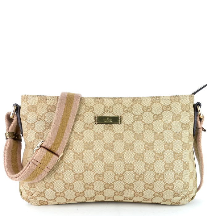 GG Canvas Web Crossbody Bag