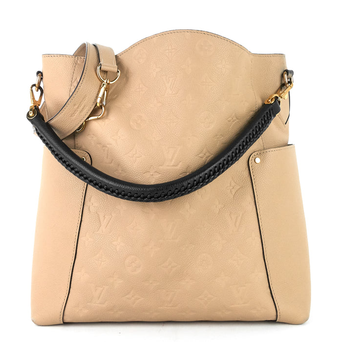 Bagatelle Monogram Empreinte Leather Hobo Bag