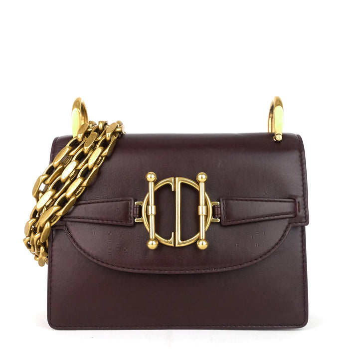 DiorDirection Lambskin Leather Flap Bag