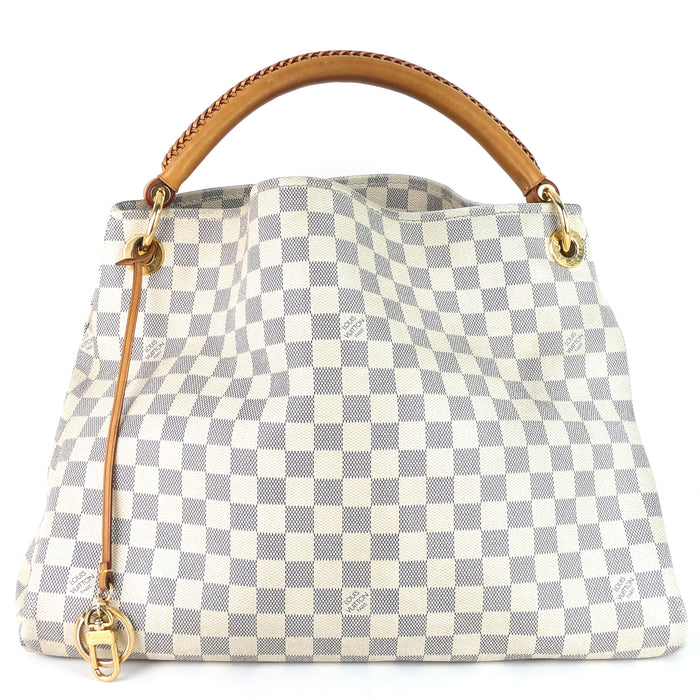 Artsy MM Damier Azur Canvas Bag
