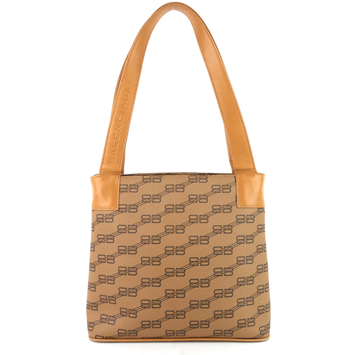 Coated Monogram Canvas Tote Bag