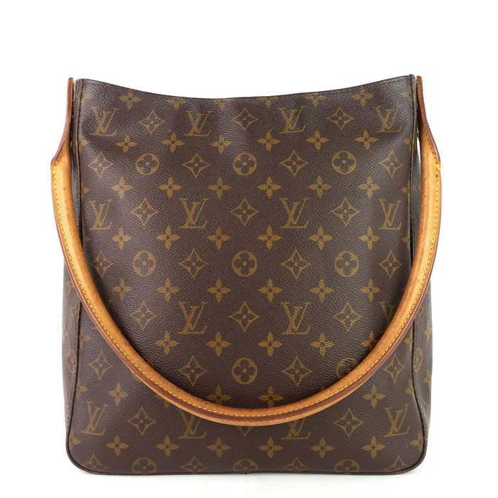 Looping GM Monogram Canvas Shoulder Bag