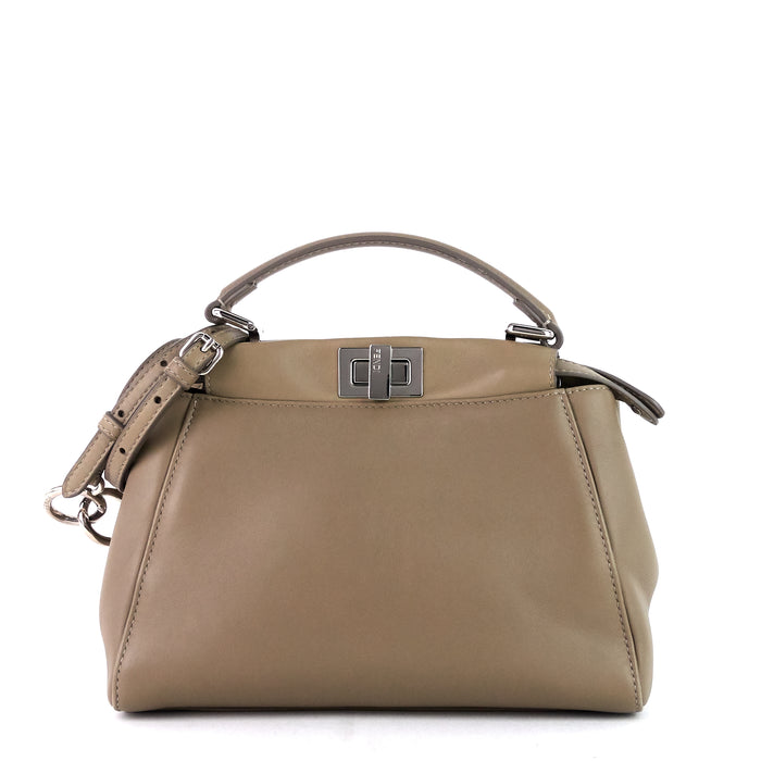 Peekaboo Mini Nappa Leather Bag