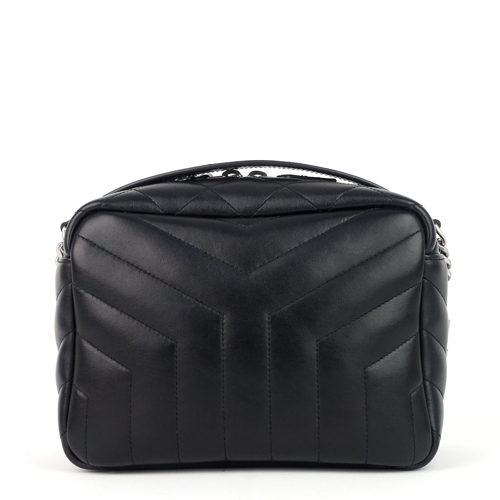 Loulou Bowling Small Matelasse Calf Leather Bag