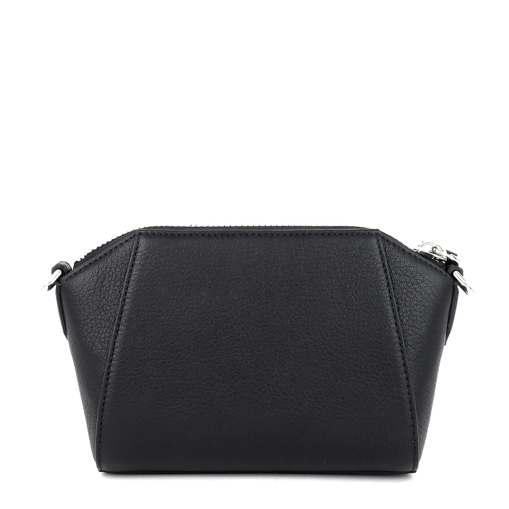 Antigona Nano Goatskin Leather Crossbody Bag