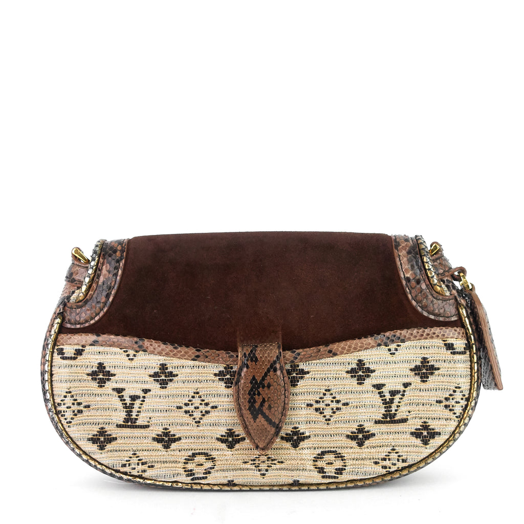 Brown Monogram Empire Levant Shoulder Bag