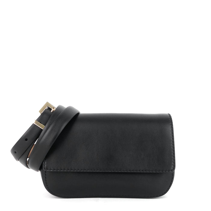 Vitello Leather Belt Bag
