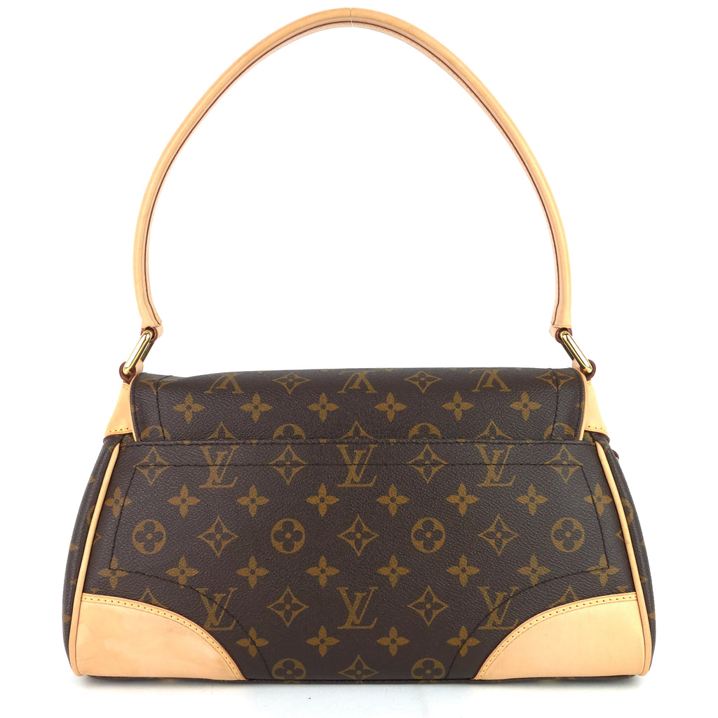 Beverly MM Monogram Canvas Bag