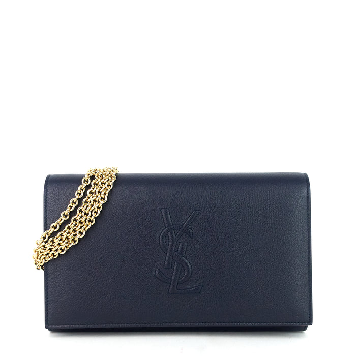 Belle de Jour Leather Wallet on Chain