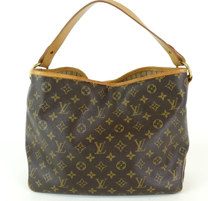 Delightful PM Monogram Canvas Tote Bag