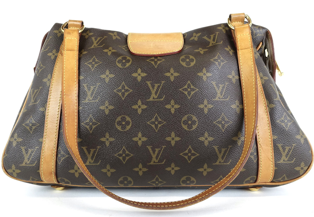 Stresa PM Monogram Canvas Shoulder Bag