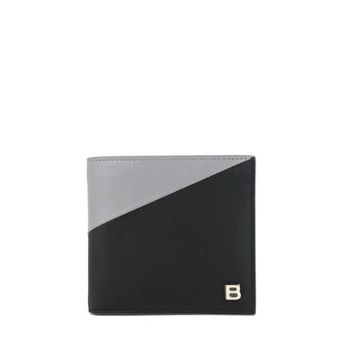 B-Line Square Bifold Lambskin Leather Wallet