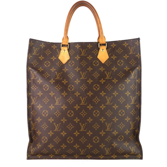 Sac Plat GM Monogram Canvas Handbag