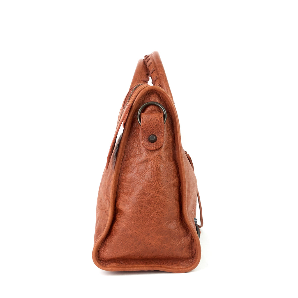 Classic City Lambskin Leather Bag