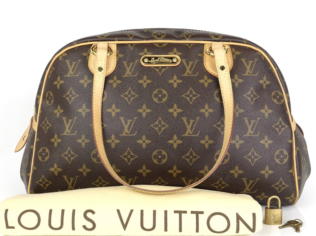 9c214e1816dd Louis Vuitton Montorgueil GM Monogram Canvas Handbag – Poshbag Boutique