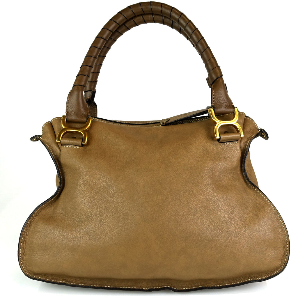 Marcie Calfskin Leather Medium Shoulder Bag